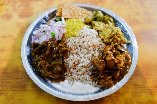 rice n curry vegitariann