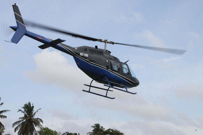 Helitours Bell helicopter