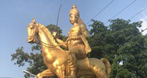 Jaffna King Sankili II statute